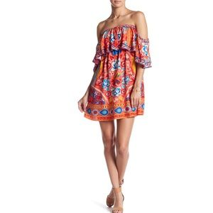 Flying Tomato off the shoulder dress